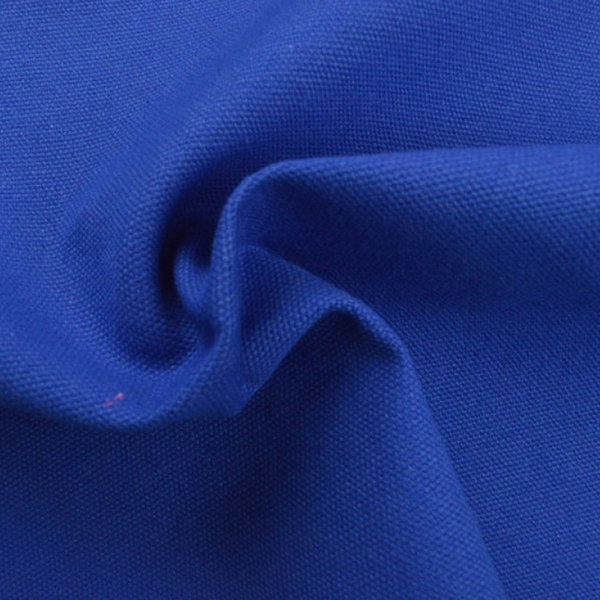 Canvas in Royalblau unifarben